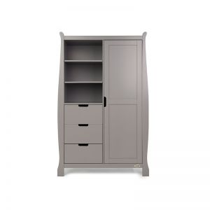 OBABY Stamford Double Wardrobe Taupe