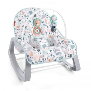 Fisher-Price Infant to Toddler Rocker Terrazzo