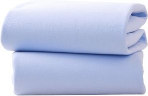 CLAIR DE LUNE Crib Fitted Sheets Blue
