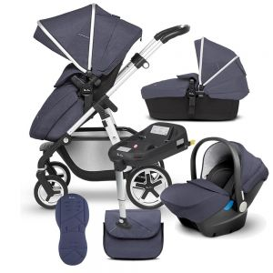 Silver Cross Pioneer 10 piece Bundle + Isofix Base