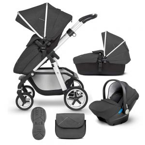 Silver Cross Wayfarer 10 piece Bundle + Isofix Base
