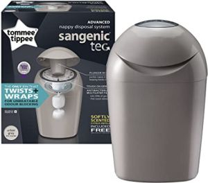 Sangenic Nappy Disposal Tub Grey