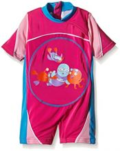 Zoggs SwimFree Float Suit Pink 1 - 2 years
